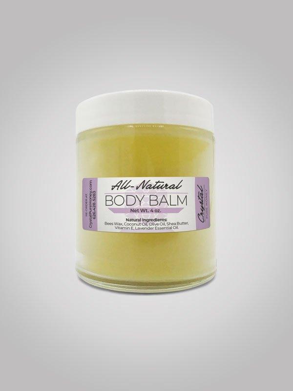 Lavender Body Balm 4oz Jar