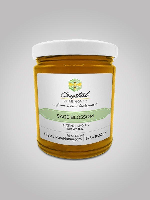 Sage Blossom Honey 8oz Jar